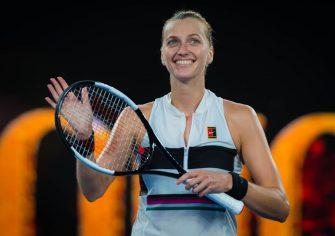 La increíble marca por la que va Kvitova en el Australian Open