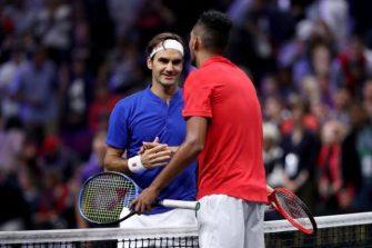 Federer defiende el saque cuchara de Kyrgios contra Nadal en Acapulco