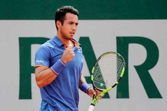 Hugo Dellien, el tenista que puso en alto a Bolivia
