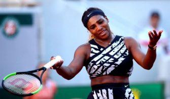 Serena revela lo que sucedió con Thiem en la rueda de prensa en París