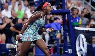 Serena Williams se rinde ante la joven Gauff