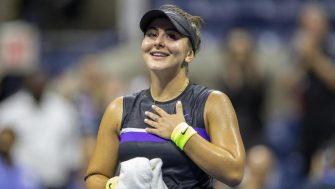 Maria Andreescu ve a su hija con opciones ante Serena