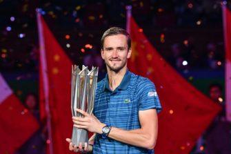 Lo que logró Medvedev tras ganar en Shanghai