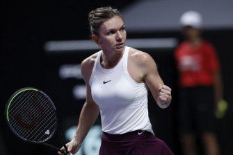 Halep revela la importancia de su victoria ante Andreescu en el WTA Finals