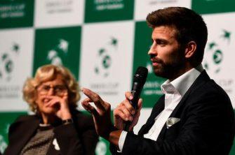 Piqué le responde a Federer sobre las negociaciones para jugar la Davis