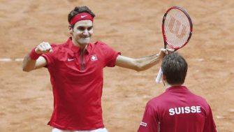 La baja de Federer en la ATP Cup elimina a Suiza