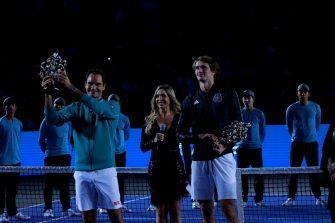 Federer regresó a México y fue recibido como un grande