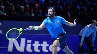 Este es el hito que logró Berrettiini en el ATP Finals