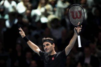 El registro que Federer alargó tras eliminar a Djokovic del ATP Finals
