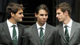 Federer, Nadal y Murray entre los ganadores de los premios ATP