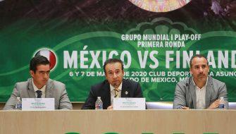 México jugará de local ante Finlandia por un pase al grupo mundial I de la Davis