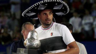 Nick Kyrgios se corona en el Abierto Mexicano de Tenis