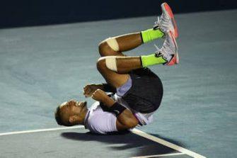 Kyrgios salva tres match points para vencer a Nadal en Acapulco