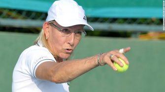 Navratilova le manda un mensaje a Margaret Court