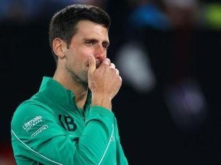 Entre lágrimas, Djokovic recuerda a Kobe Bryant