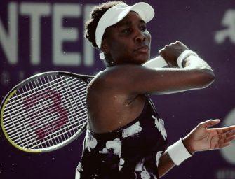 Venus Williams se despide de Acapulco