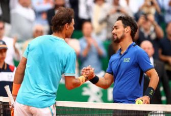 "Fognini: ""Es muy difícil derrotar a Federer y Djokovic, con Nadal es diferente"""