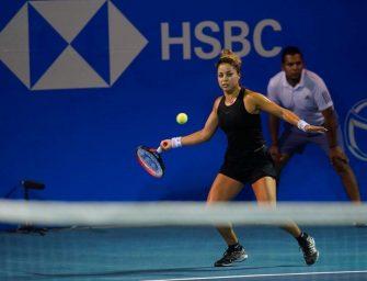 Zarazua, la tenista que puso en alto a México en Acapulco