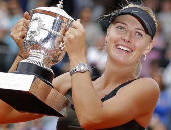 Sharapova y el legado que dejó en el tenis con su éxito