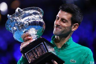 Djokovic reflexiona tras haber ganado por octava vez en Australia