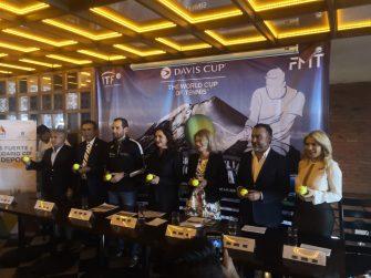 La Federación Mexicana de Tenis presenta el equipo de la Davis ante Finlandia
