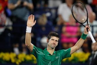 Djokovic envia un mensaje emotivo ante el coronavirus