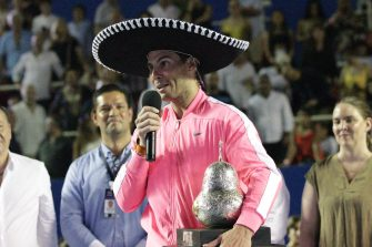 Nadal cierra con broche de oro una etapa del Abierto Mexicano de Tenis