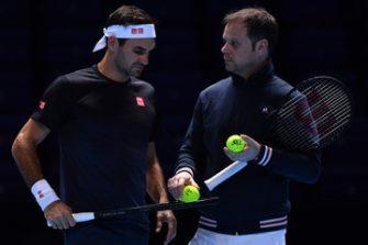 Luthi: Federer ya se entrena