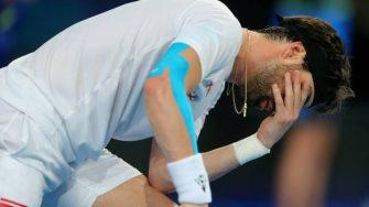 El tenista Nikoloz Basilashvili es arrestado por golpear a su ex mujer
