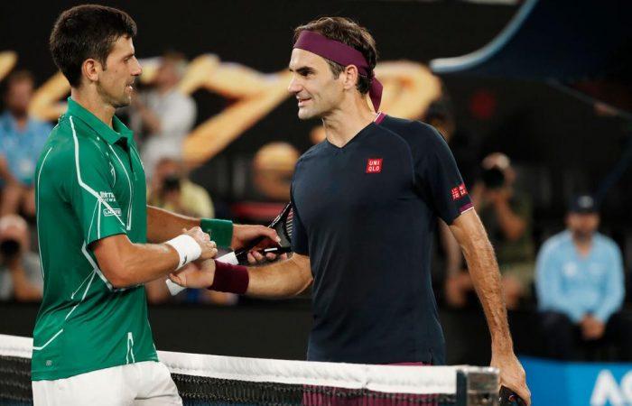 Djokovic: Hablé con Federer y me dijo que tiene molestias en su rodilla
