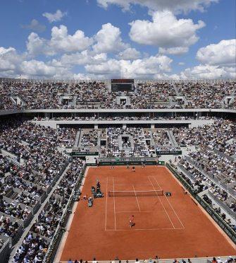 Roland Garros no se disputaría sin público
