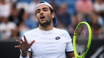 Berrettini: Prefiero ayudar a alguien que lo necesita que a un jugador de tenis