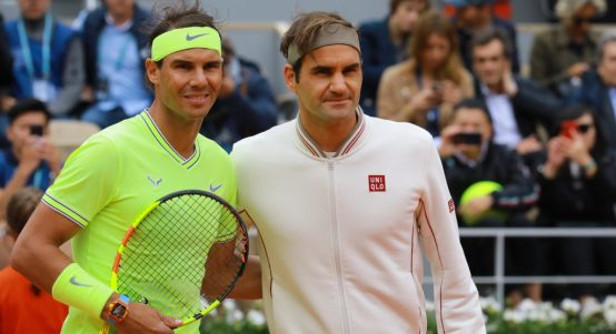 Rafael-Nadal-and-Roger-Federer-pre-match-from-PA-554×301