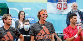 Djokovic se defiende sobre las críticas ante la presencia de público en el Adria Tour