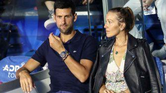 Djokovic confirma que su esposa y él han dado positivo al COVID-19