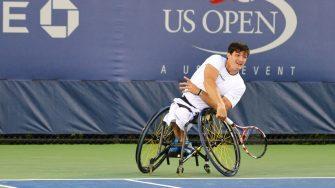 Tenistas en silla de ruedas se quejan de discriminación por parte del US Open