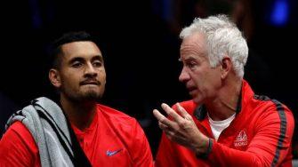 """McEnroe: """"Solo el Big 4 es más talentoso que Kyrgios"""""""