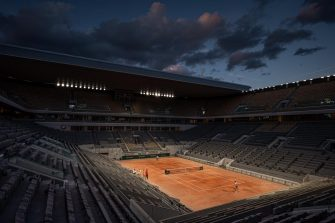 Roland Garros se jugará con un aforo de 5.000 mil espectadores o a puerta cerrada