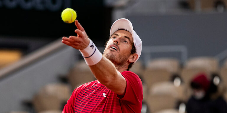 ANDY MURRAY (GBR)TENNIS – FRENCH OPEN – ROLAND GARROS – ATP – WTA – ITF – GRAND SLAM – CHAMPIONSHIPS – PARIS – FRANCE – 2020