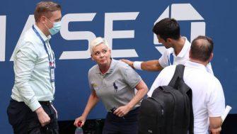 Djokovic es multado por 250.000 dólares tras pegarle a la jueza en el US Open