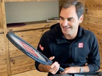 Federer sobre su nueva Pro Staff RF97: No la he usado, espero hacerlo la próxima semana
