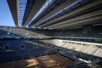 El COVID obliga a Roland Garros a celebrarse con 5.000 espectadores diarios