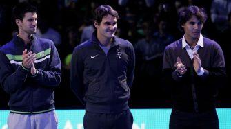 """El """"Big Three"""": son los únicos tenistas en jugar al menos cinco finales en todos los Grand Slam"""