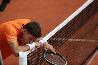 """Carreño Busta sobre Djokovic: """"Sus molestias son normales… siempre hace lo mismo"""""""