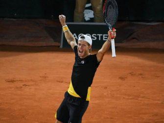 Schwartzman hace historia en Roland Garros tras Juan Martín del Potro en 2008