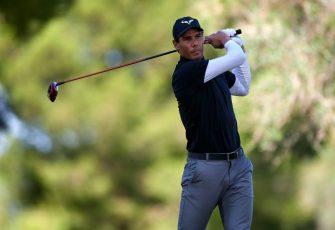 Rafael Nadal no descansa: ahora compite en golf