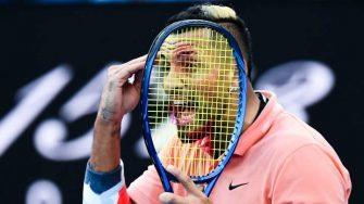 Kyrgios: Antes de la ATP Cup fui con un psicólogo y me arrepiento de ello