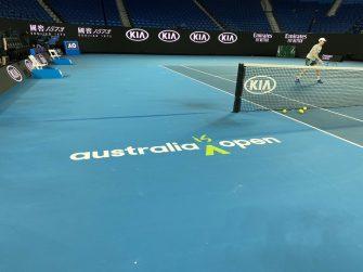 Los tenistas podrán entrenar en su cuarentena antes del Australian Open