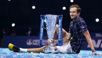 Tras ganar el ATP Finals, el Bayern de Munich le dedica una camiseta a Medvedev