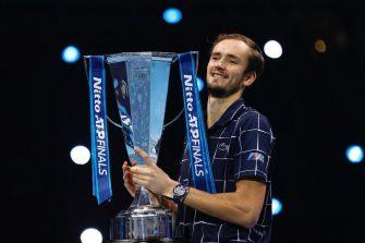 Medvedev: el segundo ruso en ganar el ATP Finals desde Davydenko en 2009